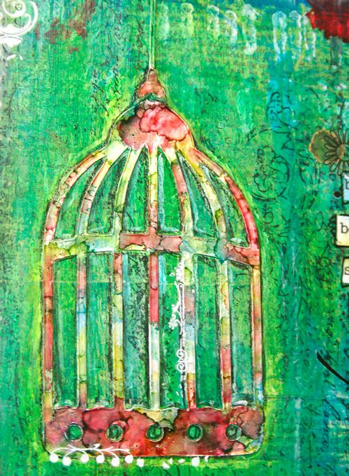 Be as a bird - cage