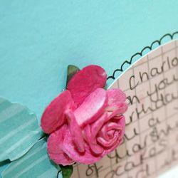 Glimmer Misted Rose