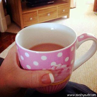Cupcake Cup and Tea
