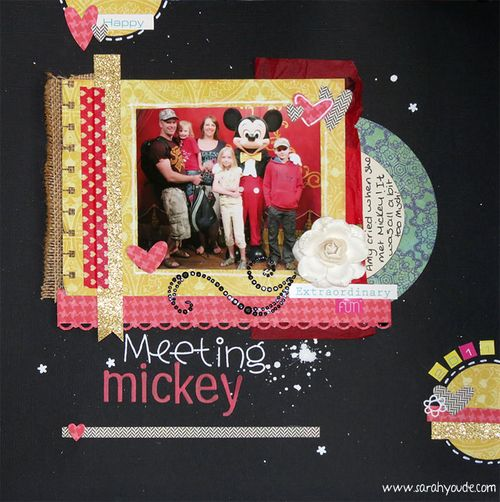 Meeting Mickey Layout