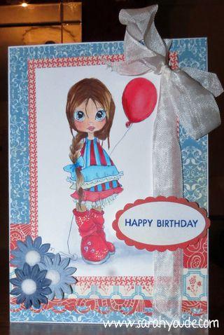 Balloon Girl birthday