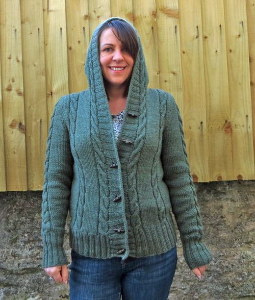 Knitting Pattern Central Park Hoodie : Its Me, Sarah