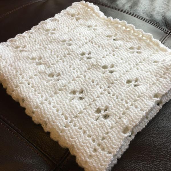 Encantador Shell Crochet Puntadas Patrón Afghan Motivo - Ideas de ...