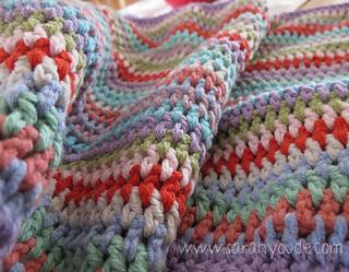 Vintage Stripe Blanket